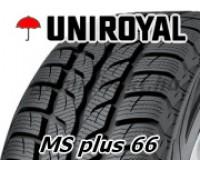 205/55 R 16 - Uniroyal - MS Plus 66   91 T - Használt - Téli - 6,5mm