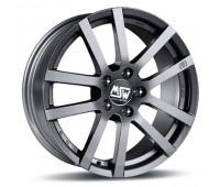 5X115 16X6.5 ET38 MSW 22 Grey Silver 70,2
