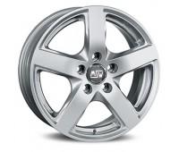 5X115 16X6.5 ET41 MSW 55 Full Silver 70,2